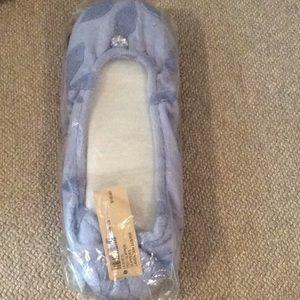 Soma lavender slippers, new, large